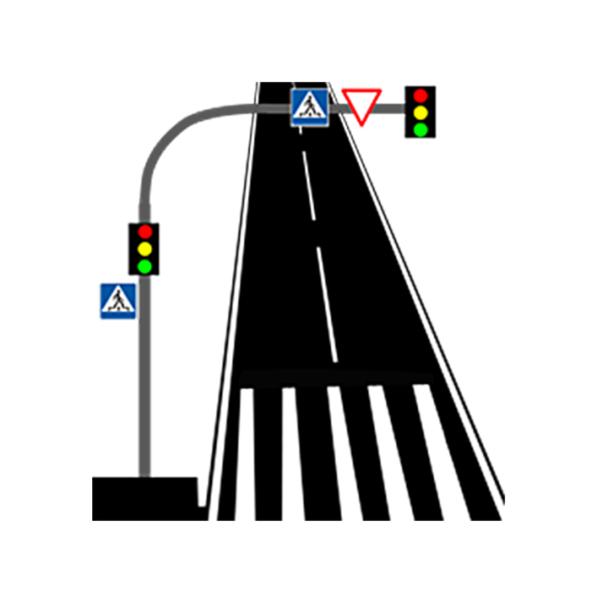 Опоры консольные светофоры2