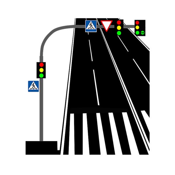 Опоры консольные светофоры