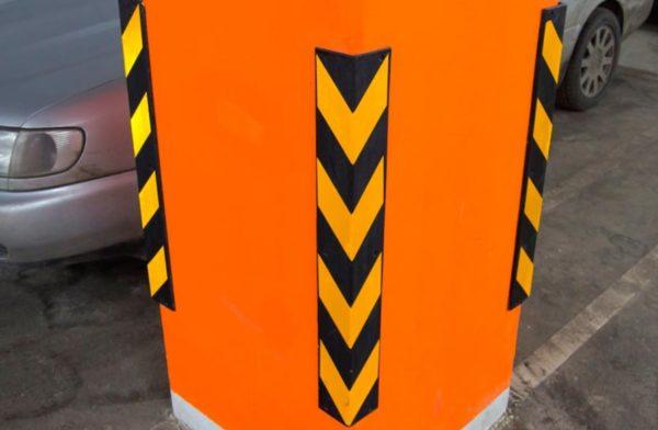 Угловая защита для стен и колон1